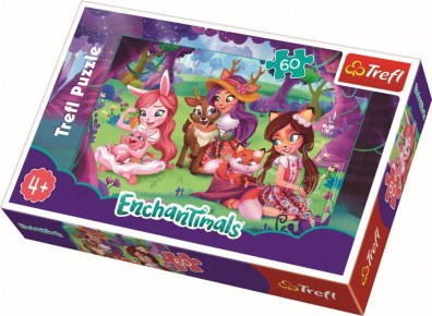 Puzzle Dupa-amiaza cu prietenii Trefl 60