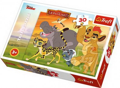 Puzzle Lion Guard trefl 30