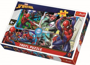 Puzzle Spiderman salvatorul trefl 160