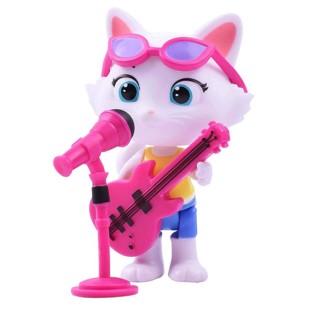 44 de pisici figurina Milady bass cu microfon si chitara