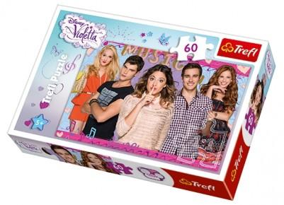 Puzzle Violeta Trefl 60