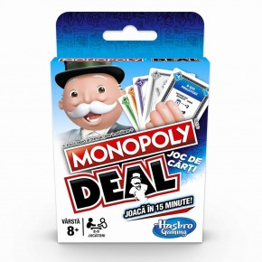 Joc de carti Monopoly Deal in limba romana