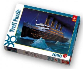 PUZZLE TREFL 1000 TITANIC Puzzle Titanic trefl 1000