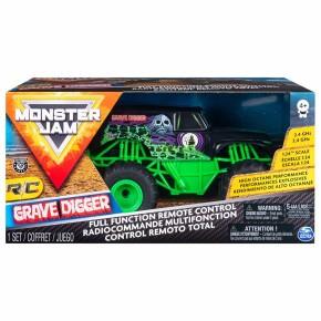 Masinuta Monster Jam Grave Digger RC