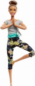 Papusa Barbie mereu in miscare yoga style