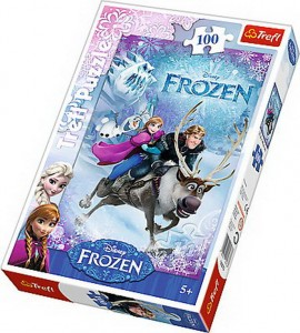 Puzzle Trefl 100 Salvarea Annei Frozen