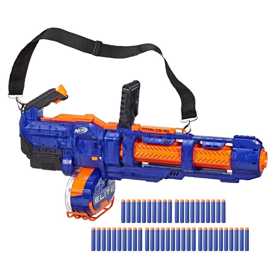 Blaster Nerf Elite Titan CS-50