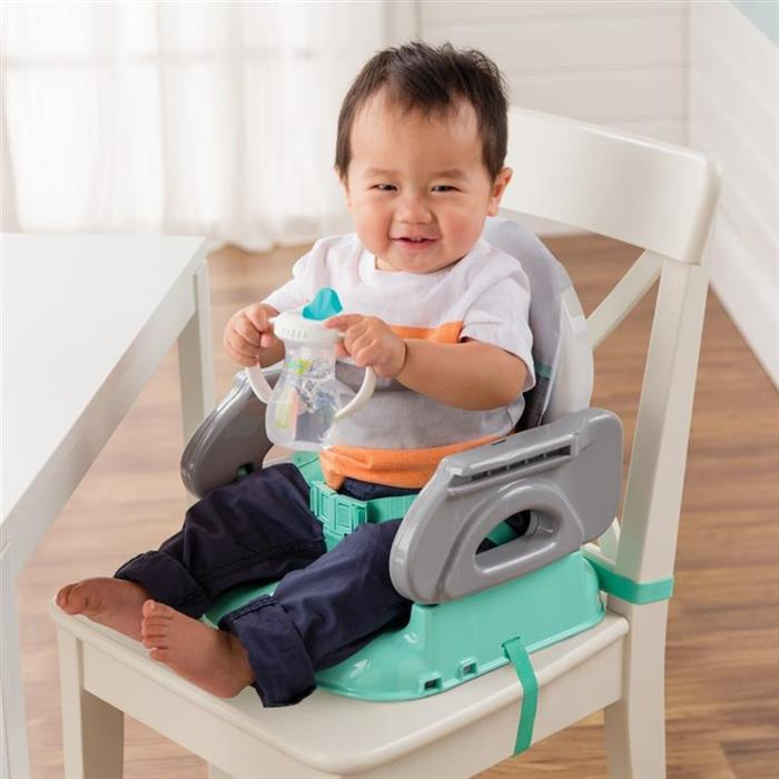 Scaun de masa Summer Infant - Booster pliabil Deluxe Turquoise