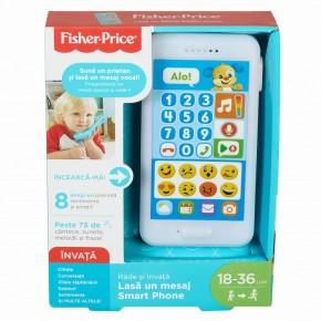 Telefonul interactiv catelus limba romana Fischer Price