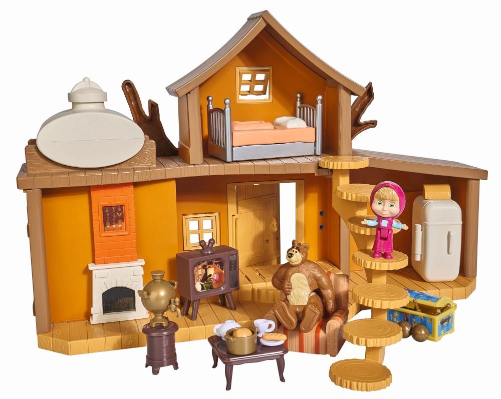 Set de joaca Masha si Ursul - Big Bear House
