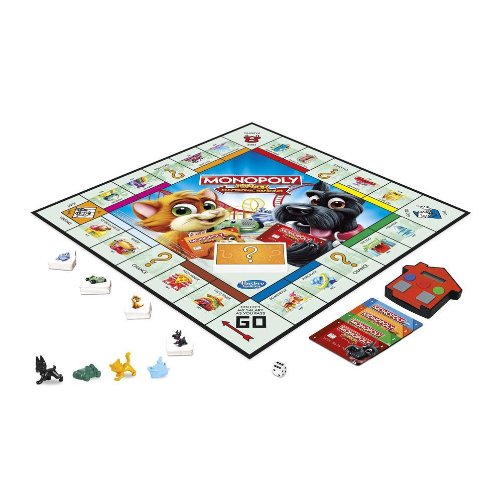 Monopoly - Junior electronic banking - varianta in limba romana