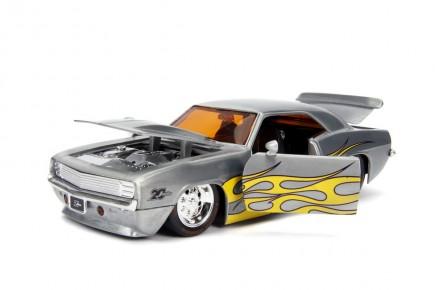 Macheta metalica Chevy Camaro 1969 scara 1:24