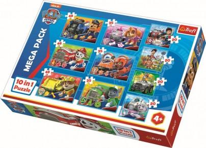 Puzzle Trefl 10in1 Patrula Catelusilor
