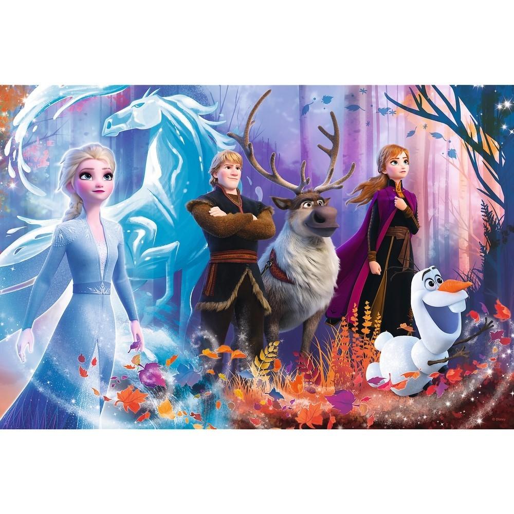 Puzzle Trefl 100 Frozen 2 Lumea Magica