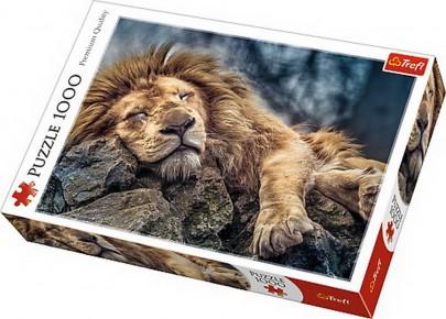 Puzzle Trefl 1000 Leu dormind