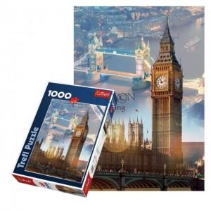 Puzzle Trefl 1000 Zori de zi la Londra