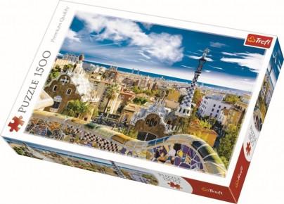Puzzle Trefl 1500 Park Barcelona