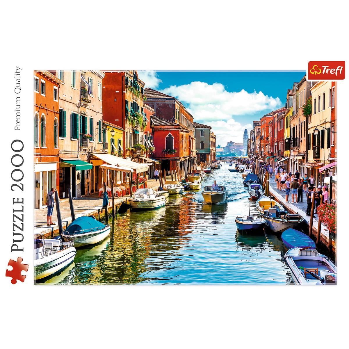 Puzzle Trefl 2000 Insula Murano Venetia