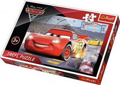 Puzzle Trefl 24 Maxi Campionul Mcqueen Cars 3