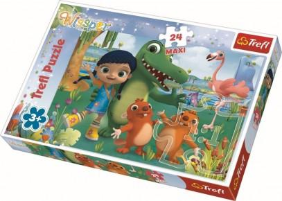 Puzzle Trefl 24 Maxi O lumea a prieteniei