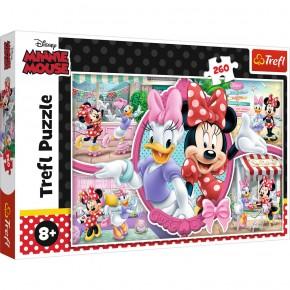 Puzzle Trefl 260 O zi fericita cu Minnie