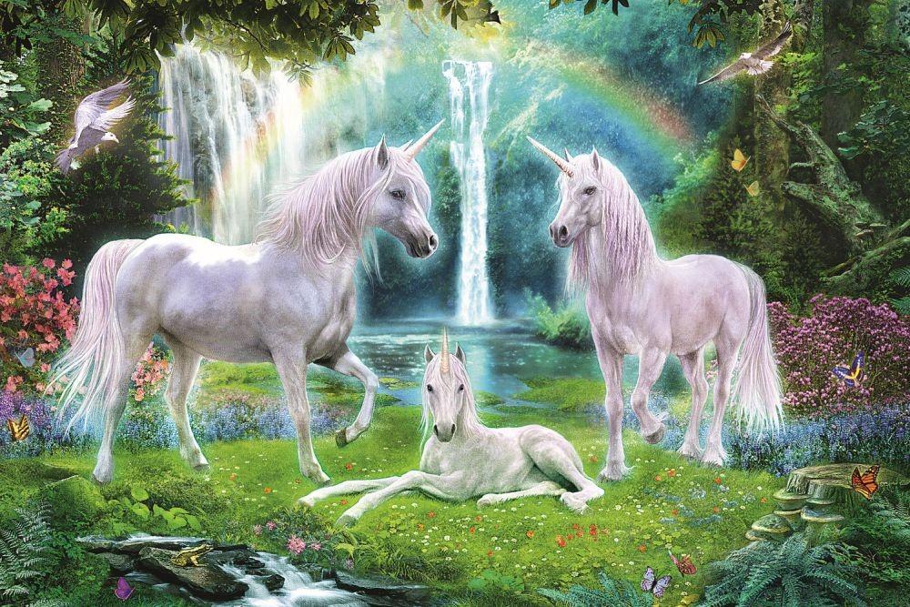 Puzzle Trefl 260 Unicornii