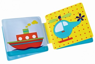 Carte pentru baie ABC pentru bebelusi