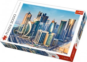 Puzzle Trefl 2000 Doha Qatar