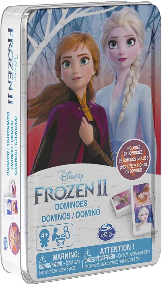 Domino Frozen in cutie de metal