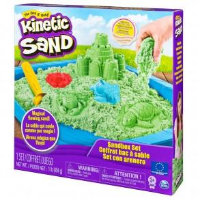 Set Kinetic Sand - nisip kinetic verde 454g