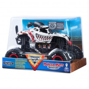 Monster Jam macheta metalica scara 1:24 Blue Dalmatianul Mutt
