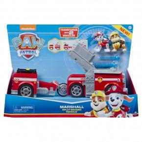 Patrula catelusilor 2in1 Split second Marshall masina de pompieri