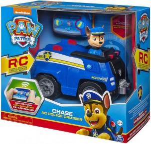 Patrula catelusilor Chase si masina de politie radiocomandata