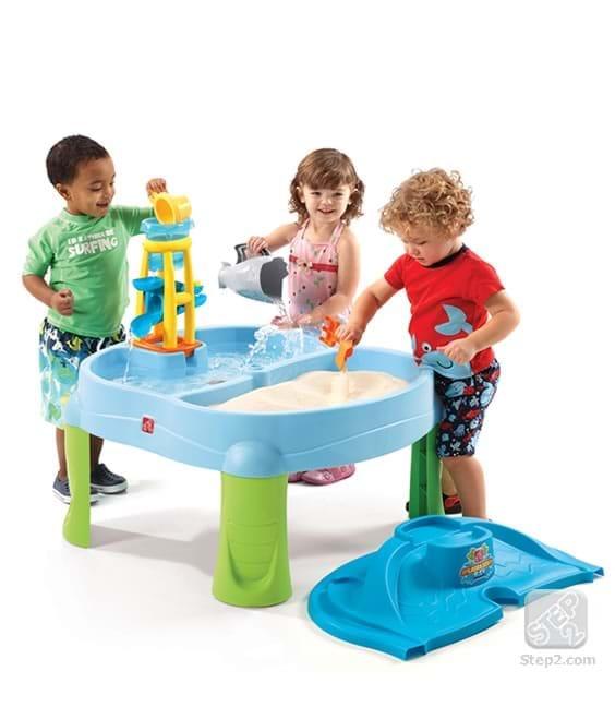 Masuta de joaca cu apa si nisip Splash'n scoop bay