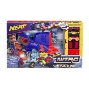 Blaster Nerf Nitro Rapid FlashFury Chaos