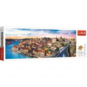 Puzzle Trefl 500 Porto Panorama Portugalia
