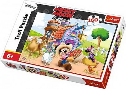 Puzzle Trefl 160 Mickey Fermierul