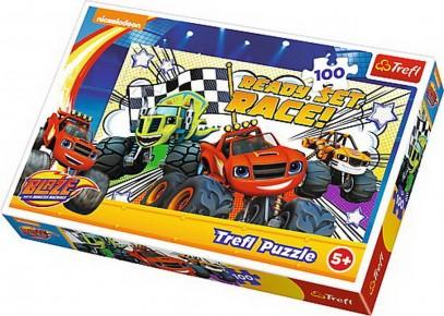Puzzle Trefl 100 Gata de cursa