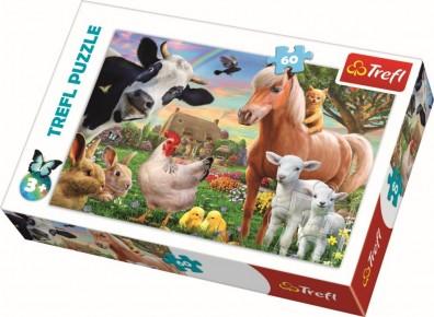 Puzzle Trefl 60 Ferma fericita