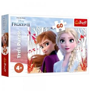 Puzzle Trefl 60 Frozen 2 Ana si Elsa