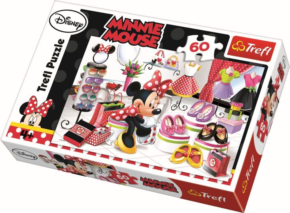 Puzzle Trefl 60 Minnie la shopping
