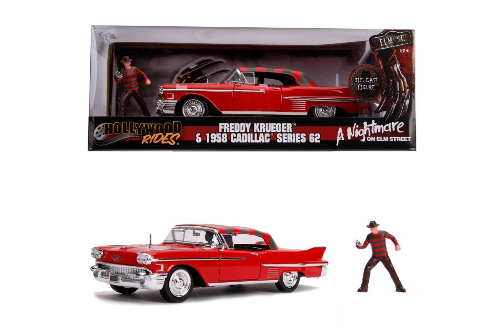 Macheta metalica Freddy Krueger & 1958 Cadillac model 62