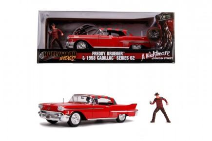 Macheta metalica Freddy Krueger & 1958 Cadillac model 62