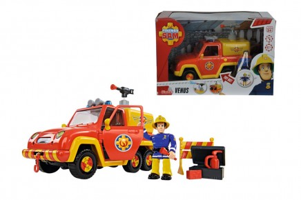 Fireman Sam masina de pompieri Venus figurina
