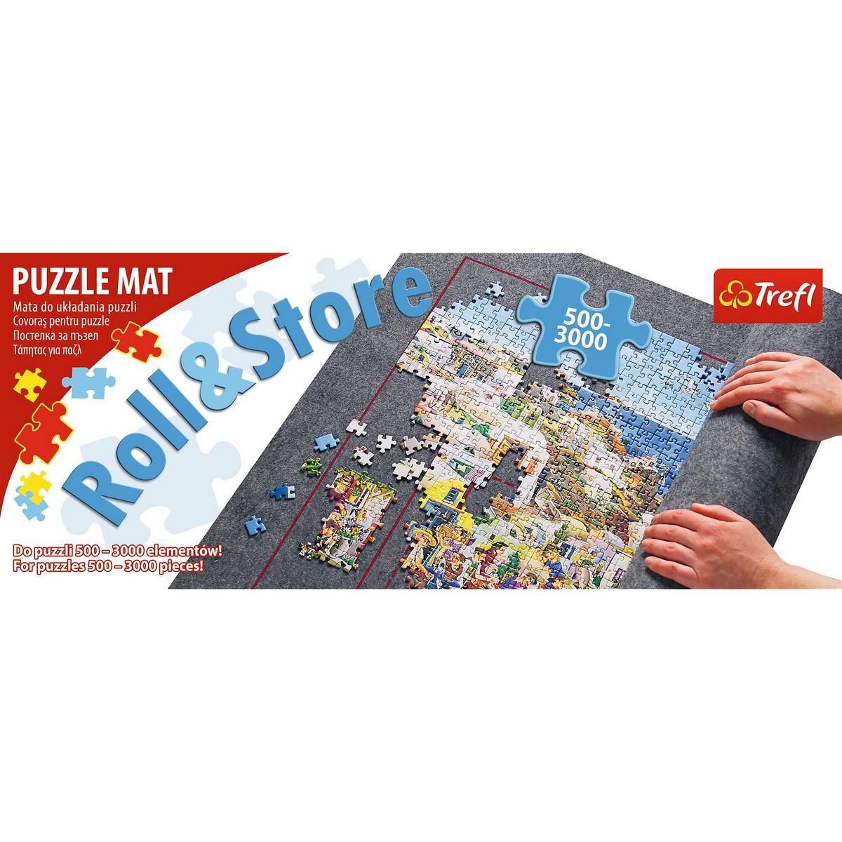 Covoras pentru rulat puzzle-uri intre 500 si 3000 piese