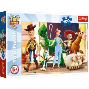 Puzzle Trefl 100 Eroii Toystory 4