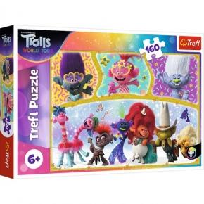 Puzzle Trefl 160 Lumea fericita a Trolilor