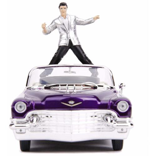 Macheta de metal Elvis Presley 1956 Cadillac Eldorado