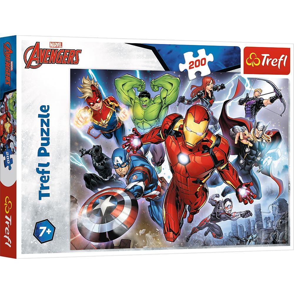 Puzzle Trefl 200 Avengers razbunatorii