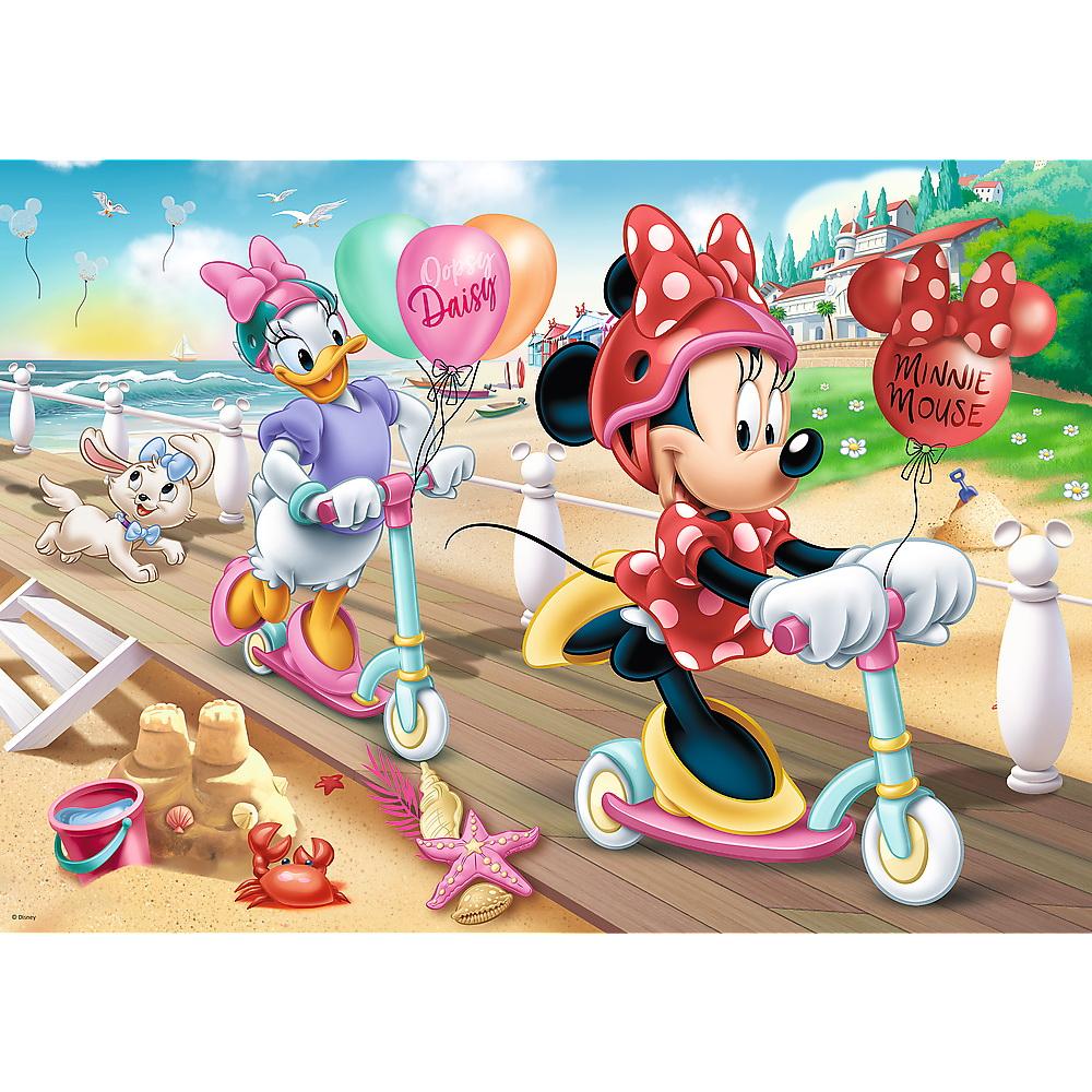 Puzzle Trefl 200 Minnie Distractie la plaja